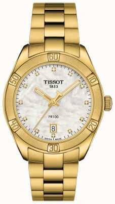 Tissot Pr 100 femminile | cronografo sport chic | madreperla T1019173311601
