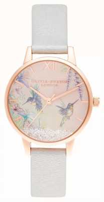 Olivia Burton Wishing wings midi shimmer perla e oro rosa OB16PP61