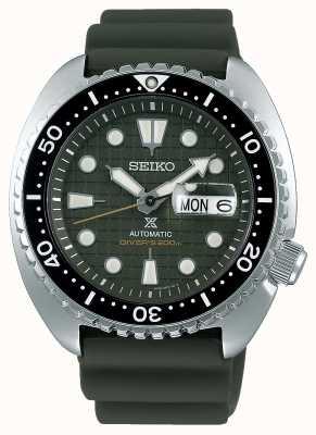Seiko Prospex gents meccanico | cinturino in caucciù cachi | quadrante cachi SRPE05K1