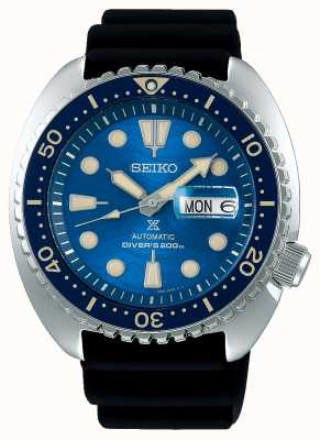 Seiko Meccanici Prospex | salvare l'oceano | gomma nera SRPE07K1