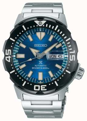 Seiko Meccanici Prospex | salvare l'oceano | quadrante blu SRPE09K1
