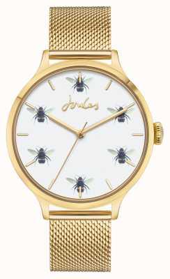 Joules | maglia pvd oro | quadrante bianco dell'ape JSL030GM