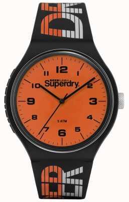 Superdry | urban xl racing | silicone multicolore blu | orange di SYG269BO