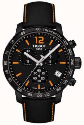 Tissot Cronografo T-sport quickster nero e arancione T0954173605700
