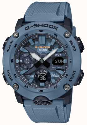 Casio Camouflage da uomo g shock carbon core watch GA-2000SU-2AER