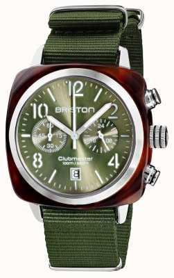 Briston Clubmaster classico | cronografo | 19140.SA.T.26.NOL