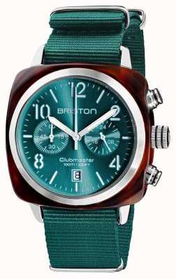 Briston Clubmaster classico | cronografo | 19140.SA.T.27.NE