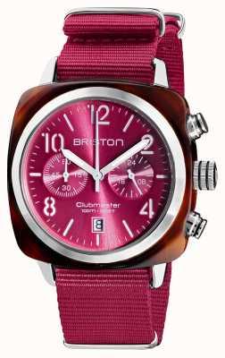 Briston Clubmaster classico | cronografo | 19140.SA.T.28.NBER