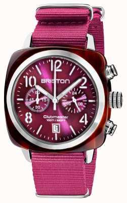 Briston Clubmaster classico | cronografo | 19140.SA.T.32.NC