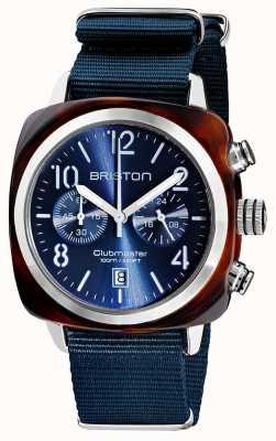 Briston Clubmaster classico | cronografo | 19140.SA.T.33.NMB