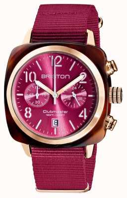 Briston Clubmaster classico | cronografo | 19140.PRA.T.28.NBER