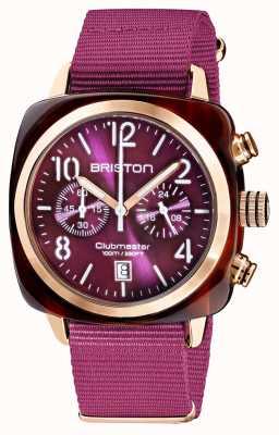 Briston Clubmaster classico | cronografo | 19140.PRA.T.32.NC