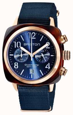 Briston Clubmaster classico | cronografo | 19140.PRA.T.33.NMB