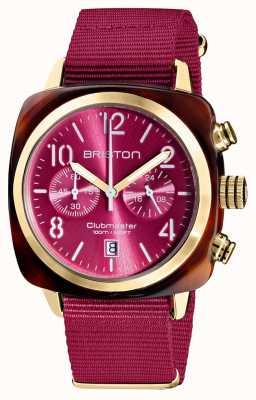 Briston Clubmaster classico | cronografo | 19140.PYA.T.28.NBER