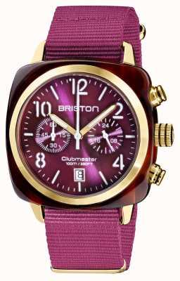 Briston Clubmaster classico | cronografo | 19140.PYA.T.32.NC