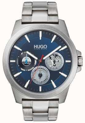 HUGO #twist | bracciale in acciaio inossidabile quadrante blu 1530131