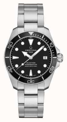 Certina Ds action diver | 38mm | powermatic 80 | acciaio inossidabile C0328071105100