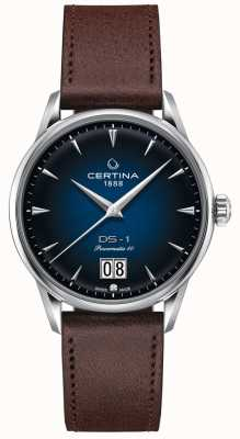 Certina Ds-1 grande appuntamento | powermatic 80 | cinturino in pelle marrone C0294261604100
