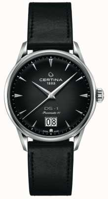 Certina Ds-1 grande appuntamento | powermatic 80 | cinturino in pelle nera C0294261605100