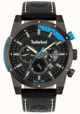 Timberland Uomo | sherbrook | cinturino in pelle nera | quadrante nero 15951JSU/02