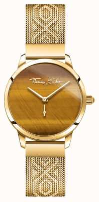 Thomas Sabo | glam e soul | spirito del giardino femminile | tigri occhio d'oro WA0364-264-205-33