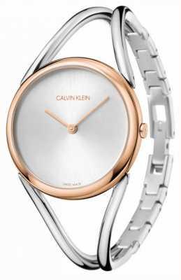Calvin Klein Signora | bracciale in acciaio inossidabile quadrante argentato | KBA23626