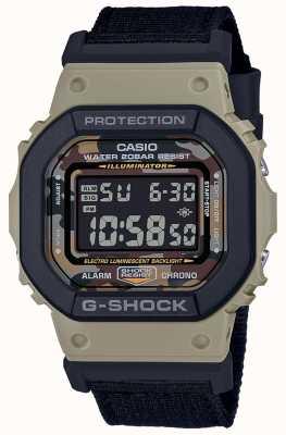 Casio G-shock | cinturino nero | digitale | cronometro DW-5610SUS-5ER