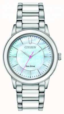 Citizen | delle donne | guida ecologica | quadrante azzurro EM0740-53D
