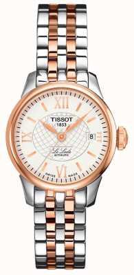 Tissot | le locle | automatico | acciaio rosa bicolore T41218316