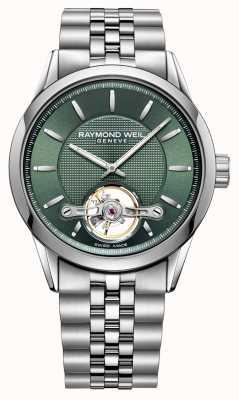 Raymond Weil Uomo | libero professionista | automatico | quadrante verde | 2780-ST-52001