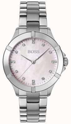 BOSS | mini sport femminile | bracciale in acciaio argento | quadrante argentato | 1502469