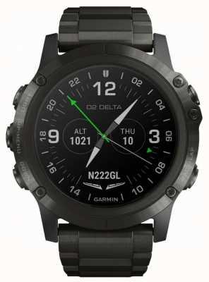 Garmin D2 delta px aviator | cinturino in titanio dlc 010-01989-31