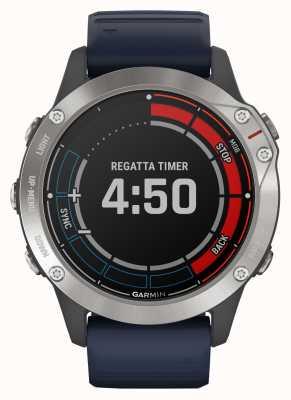 Garmin Quatix 6 | orologio marino capitan blue band gps 010-02158-91