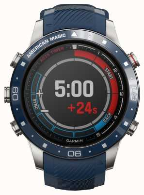 Garmin Capitano Marq | American Magic Edition (cinturini blu e rossi) 010-02454-01