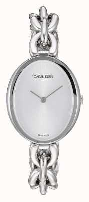 Calvin Klein | dichiarazione delle donne | bracciale a catena in acciaio inossidabile K9Y23126
