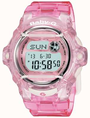 Casio Display digitale con cinturino rosa baby g BG-169R-4ER