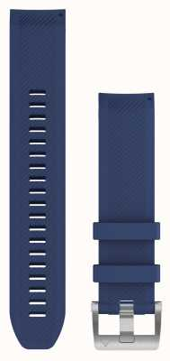 Garmin Quickfit 22 marq cinturino in gomma blu navy 010-12738-18