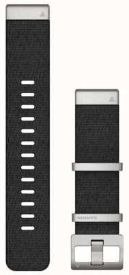 Garmin Cinturino Quickfit 22 marq in tessuto jacquard nero 010-12738-21