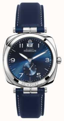 Michel Herbelin Quadrante / cinturino blu unisex Newport 18264/AP15BL