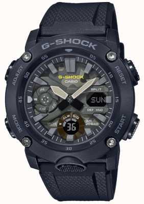 Casio G-shock | cinturino in gomma | quadrante mimetico GA-2000SU-1AER