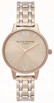 Olivia Burton | la collezione inghilterra | bracciale in acciaio bicolore | OB16EN02