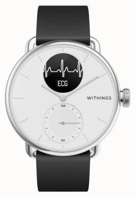 Withings Scanwatch 38 mm bianco - smartwatch ibrido con ecg HWA09-MODEL 1-ALL-INT