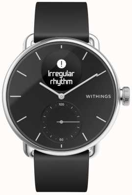 Withings Cinturino Scanwatch in silicone 38 mm - nero HWA09-MODEL 2-ALL-INT