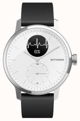 Withings Scanwatch 42mm bianco - smartwatch ibrido con ecg HWA09-MODEL 3-ALL-INT