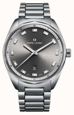 Favre Leuba Chief sky chief date 43 grigio dia 00.10201.08.31.20