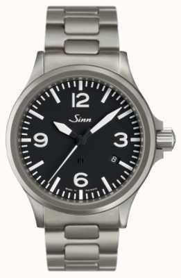 Sinn 856 l'orologio pilota con protezione del campo magnetico 856.011 BRACELET