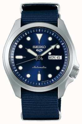 Seiko Orologio automatico sportivo da uomo 5 | blu nato SRPE63K1