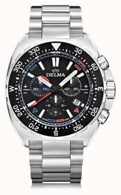 Delma Cronografo al quarzo Oceanmaster | bracciale in acciaio inossidabile 41701.678.6.038