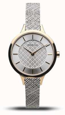 Bering Classico da donna | oro lucido | bracciale a maglie d'argento 17831-010