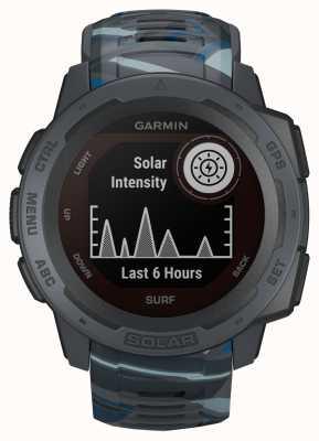 Garmin Cinturino in caucciù Instinct Solar Gps Surf Edition Pipeline 010-02293-07